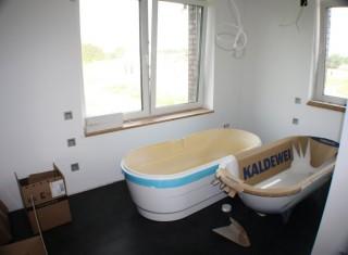 Badezimmer Passivhaus